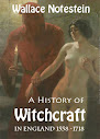 A história de bruxaria na Inglaterra a partir de 1558 To1718